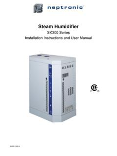 Steam Humidifier - Neptronic