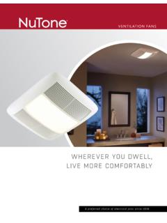 VENTILATION FANS - Ironing Centers - Home …