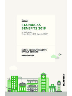 Welcome STARBUCKS BENEFITS 2019 - …