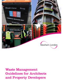 Waste Management Guidelines for Architects and Property ...