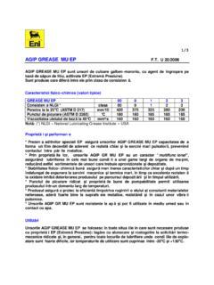 LUBRICANTS & ADDITIVES GRASSO LTO EP   Agip grease mu ep   PDF4PRO