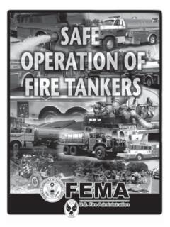 Safe Operations of Fire Tankers - usfa.fema.gov