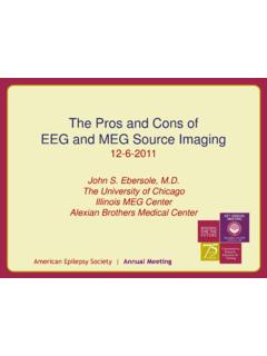 The Pros and Cons of EEG and MEG Source Imaging