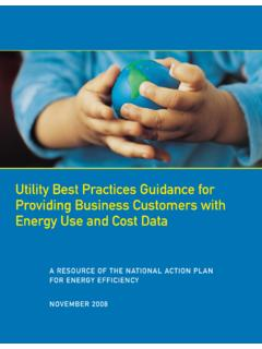 Utility Best Practices Guidance for Providing Business ...