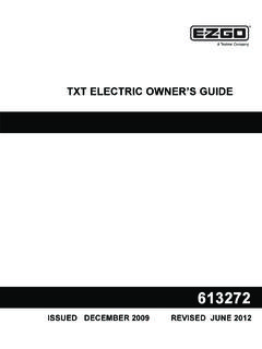TXT ELECTRIC OWNER'S GUIDE - Cloud Object …