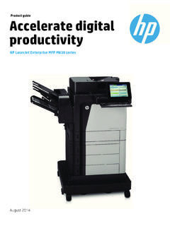 Product guide Accelerate digital productivity - hp.com