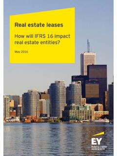 Real estate leases - ey.com