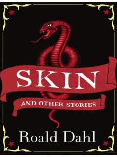 Skin and Other Stories - Weebly