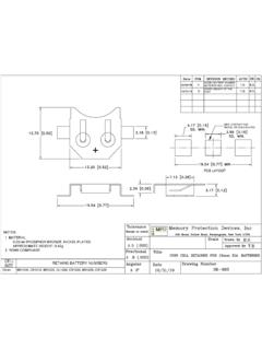 BK-885 Datasheet and Technical Drawing | MPD