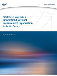 What Does It Mean to Be a Nonprofit Educational ...