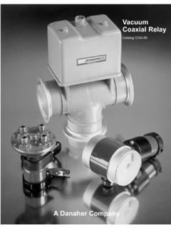 Vacuum Coaxial Relay - Jennings Tech