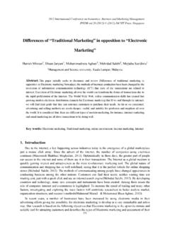 "Differences of ""Traditional Marketing"" in …"