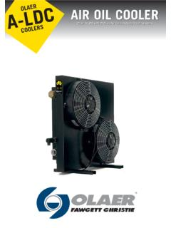 OLAER AIR OIL COOLER - Oil Solutions