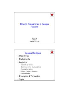 How to Prepare for a Design Review - EDGE