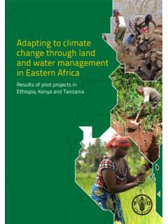 Adapting to climate change through land and …