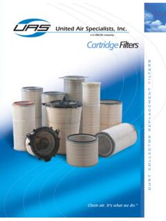 Dust Collector Replacement Filters by United Air ...