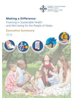 Executive Summary - NHS Wales
