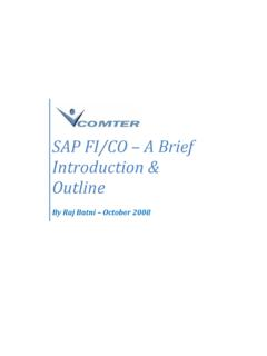 SAP FI/CO – A Brief Introduction & Outline - ERP Consulting