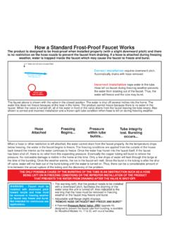 How a Standard Frost-Proof Faucet Works - …