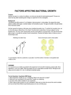 13- Factors Affecting Bacterial Growth - Meant4Teachers.com