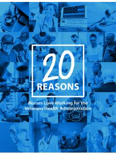 20 Reasons Nurses Love Working for the Veterans Health ...