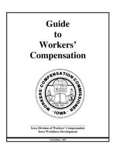 Guide to Workers' Compensation - Iowa