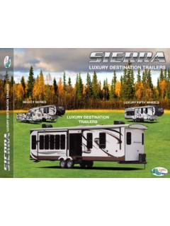 LUXURY DESTINATION TRAILERS TRAILERS - Forest River