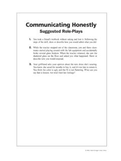 Communicating Honestly - Vacaville Unified School District