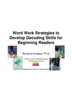 Word Work Strategies to Develop Decoding Skills for ...
