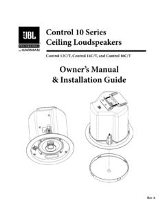 Owner's Manual & Installation Guide