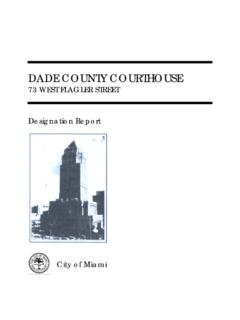 Dade County Courthouse - Miami
