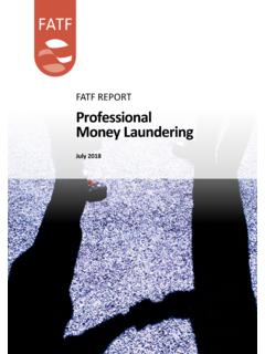 PROFESSIONAL MONEY LAUNDERING - fatf-gafi.org