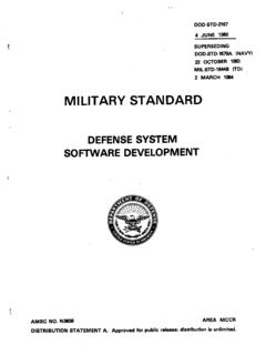 MILITARY STANDARD - Product Lifecycle Management