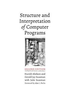 Structure and Interpretation of Computer Programs, 2nd ed.