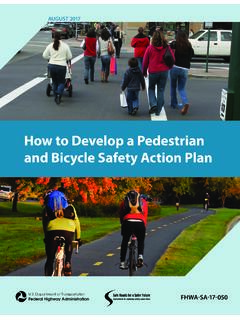 How to Develop a Pedestrian and Bicycle Safety Action Plan