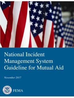 National Incident Management System - Guideline for …