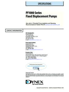 PF1000 Series Fixed Displacement Pumps - About Us