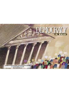 Introduction: What is Democracy? - State