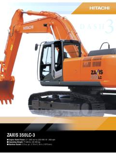 ZAXIS 350LC-3 - New Construction Equipment
