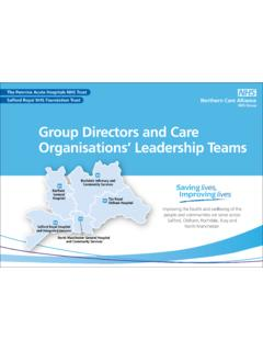Group Directors and Care Organisations' …