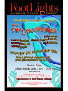 Disney's The Little Mermaid - kentwoodplayers.org