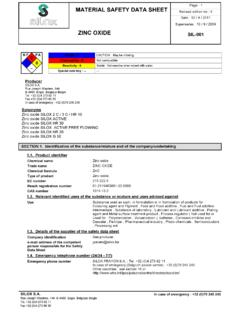 Page : 1 MATERIAL SAFETY DATA SHEET - Silox