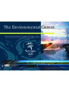 Environmental achievements of the Sydney 2000 Olympic ...