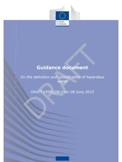 Guidance document - European Commission