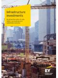 Infrastructure investments - ey.com