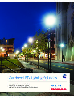 Outdoor LED Lighting Solutions - Dave Murphy