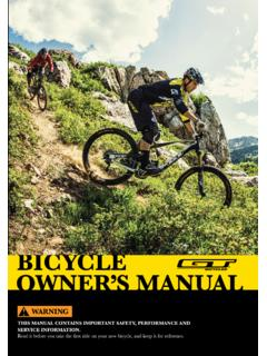 PRE-RIDE CHECKLIST - gtbicycles.com