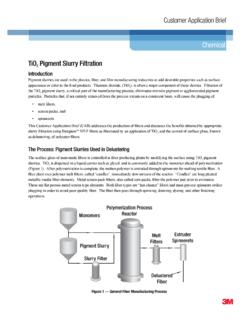Customer Application Brief Chemical