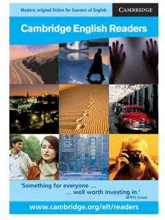Cambridge English Readers