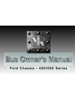 Ford Chassis - 450/550 Series - Just Give Me The Damn Manual